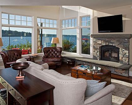 Claffeys Interior Painting - Living Room